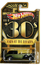 2012 Hot Wheels Cars of the Decades #1 '35 Cadillac The '30s