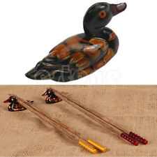 1PC Cute Duck Chopstick Stand Rest Rack Spoon Fork Chopsticks Holder Decor