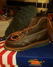 THOROGOOD BOOTS 814-4266 7 D work wolverine moc toe red wing iron ranger  lot