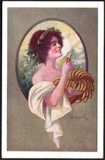Femme au régime de bananes