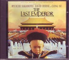 Last Emperor soundtrack CD Sakamoto Byrne