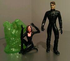 CYCLOPS - James Marsden Marvel X-MEN MOVIE Action Figure + Jean Grey - 2000