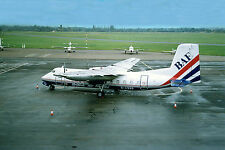 Airliner Postcard BAF Herald Southend Airport
