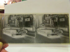 ancienne plaque verre stereo stereoscopique photo automobile voiture T