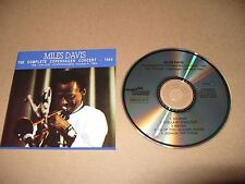 Miles Davis The Complete Copenhagen Concert 1964 5 track cd Ex + Condition Rare