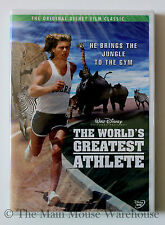 The World's Greatest Athlete Track & Field Running Disney Safari Comedy on DVD