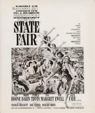 """Pat Boone, Bobby Darn in  """"New State Fair"""" 1962 Vintage Publicity Photo"""