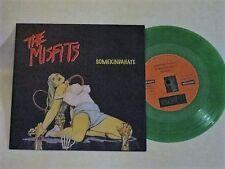 """Misfits - Somekindahate 7"""" NM- RARE Green Wax fold out sleeve"""