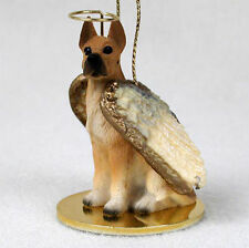 Great Dane Dog Figurine Angel Statue Fawn