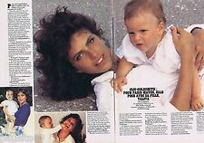 COUPURE DE PRESSE CLIPPING 1983 Clio Goldsmith   (2 pages)