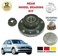 FOR OPEL VAUXHALL CORSA C 1.2 TWINPORT 2004-2006 NEW REAR WHEEL BEARING KIT