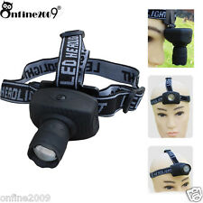 3-Mode 1200LM LED  3-Mode LED Zoomable Headlamp AAA Head Torch Light Lamp