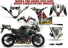 AMR RACING DEKOR GRAPHIC KIT HONDA CBR 250,500R,600RR,1000RR IRON MAIDEN NOTB B
