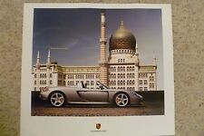 2006 Porsche Carrera GT Coupe Showroom Advertising Poster RARE!! Awesome L@@K
