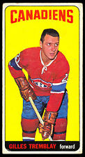 1964 65 TOPPS TALL BOYS HOCKEY #2 GILLES TREMBLAY VG-EX MONTREAL CANADIENS CARD