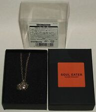 Soul Eater Square Enix Official the Sun and the Moon Silver Necklace Pendant