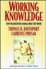 Working Knowledge Davenport, Thomas H., Prusak, Laurence Paperback