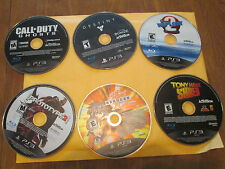 DEAL LOT OF 6 GAMES DISC : WIPEOUT 2,DESTINY,CALL OF DUTY GHOSTS, + OTHER 3 PS3