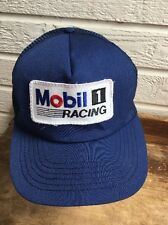 Mobil 1 Racing Blue HAT Cap Snapback