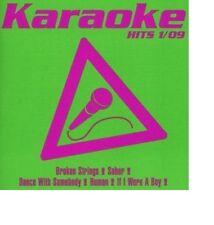 Karaoke 1/09 OVP / BROKEN STRINGS SOBER DANCE WITH SOMEBODY HUMAN WERE A BOY