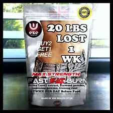 WORLDS  NO1 FAT BURNER WEIGHT LOSS TABLETS DIET SLIMMING PILLS BUY 2 GET 1 FREE