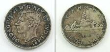 1946 Canada Silver Dollar - King George VI - Original Patina or Toning