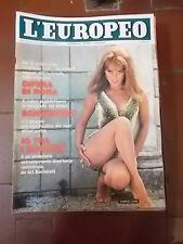 L'EUROPEO RIVISTA SETTIMANALE 1965 n°38  anno XXI