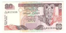 Offer Sri Lanka 20 rupees 2006 paper banknote  very nice !