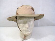 post-Vietnam US Army 3-Color Desert Camoflage Boonie Hat - Size 7