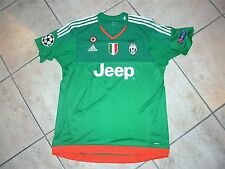 juventus champions league 2015/16- match worn/issued shirt