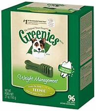 GREENIES® Weight Management Treat for Dogs, 27 ounce Teenie® (96ct) , New, Fre