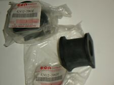 2x BRAND NEW Genuine Suzuki GV Grand Vitara Anto Roll Bar BUSH 42412-78K00 06-15