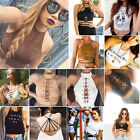 Summer Women Casual Halter Tank Tops Vest Blouse Sleeveless Crop Tops Shirt LOT