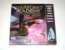 Star Trek Starfleet Academy PC Game Complete Big Box Limited Edition Figurine