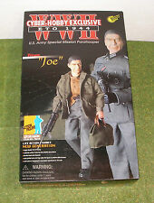 DRAGON 1/6 WW II US CYBER HOBBY JOE PRIVATE US ARMY SPECIAL MISSION PARATROOPER