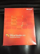 Microsoft Visual Studio 2005 Professional DE mit MwSt-Rechnung vom Fachhändler