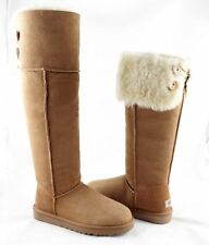 NEW UGG Australia UGG® Bailey Button Over the Knee Boots Chestnut SZ 8 $395