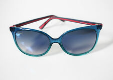 Gucci GG3649/S Sunglasses Green with Blue Gradient Mirror Lenses