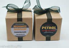 Unusual Gifts for Men Man Candles x2 Mechanics & Petrol Candle small