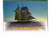 Inv 170 Vintage Pride of Baltimore II Ship Postcard
