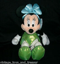 "12"" BABY MINNIE MOUSE IN TINKERBELL OUTFIT DISNEY STUFFED ANIMAL PLUSH TOY DOLL"