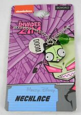 New Nickelodeon Invader Zim Gir Alien As Dog Doom 3 Charm Pendant Necklace