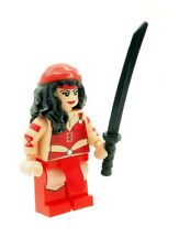 Custom Minifigure Elektra (Daredevil) Superhero Printed on LEGO Parts