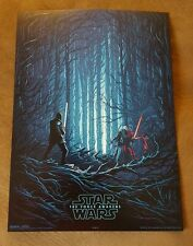 Star Wars The Force Awakens AMC Stubs Promo Imax Posters 4 of 4 RARE