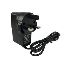 UK MAINS WALL MICRO CHARGER FOR ANDROID PHONES HTC SAMSUNG NOKIA TABLET MP4 MP3