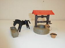 Playmobil 3295 medieval set well with horse