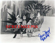 The Wizard of Oz RARE signed photo 1967 cartoon series voice actress June Foray
