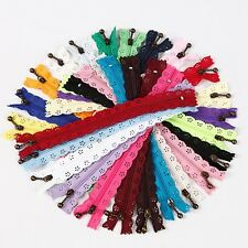 Wholesale 24pcs Zippers include  24 colors for purse or bags manufacture