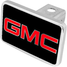 New GMC Red/Mirrored Logo Tow Hitch Cover Plug