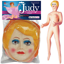 BLOW UP DOLL GIRL FEMALE JUDY INFLATABLE BLOWUP BACHELOR PARTY GAG GIFT